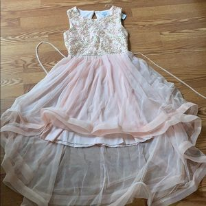 speechless (from macy's) pink prom party dress